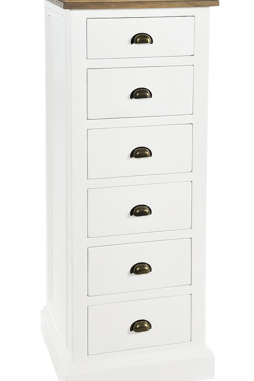 Ludlow 6 Drawer Tall Chest