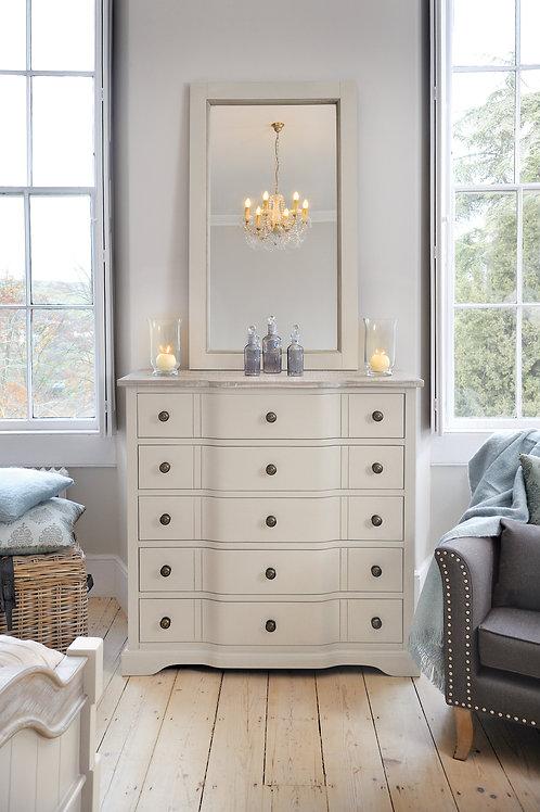 Ella Bedroom Drawers Ivory