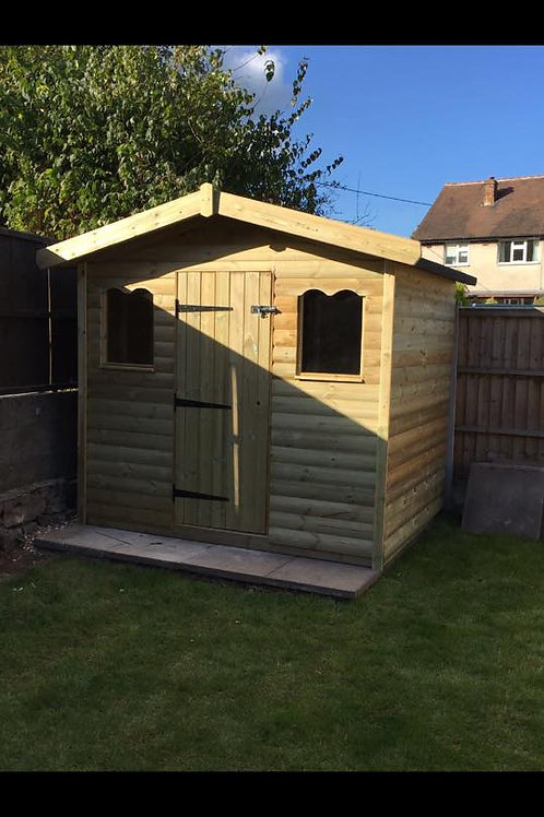 8x6 Luxury Shed