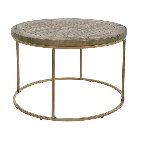 Tatton Circle Side Table - Bronze