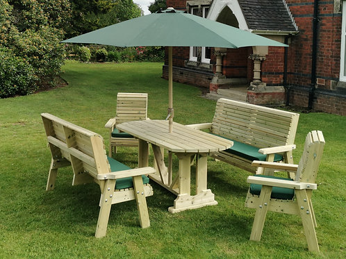 Chatsworth Table Set   Sits 8