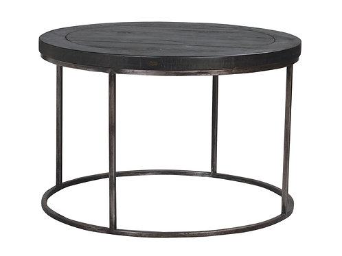 Tatton Circle Side Table -Charcoal