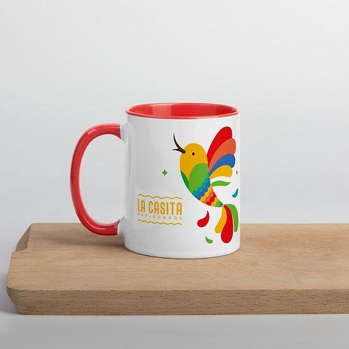 La Casita Mug with Color Inside