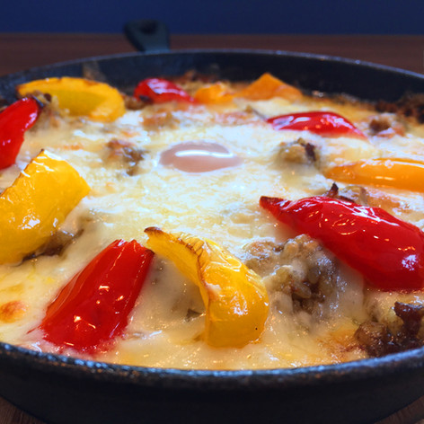 チーズがたっぷり焼きカレー