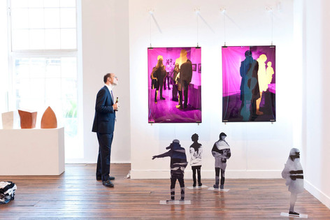 Event photography - National Art School graduate show