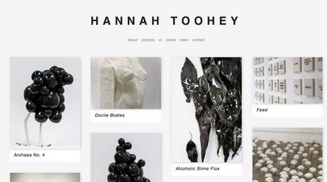 Hannah Toohey - artwork documentation