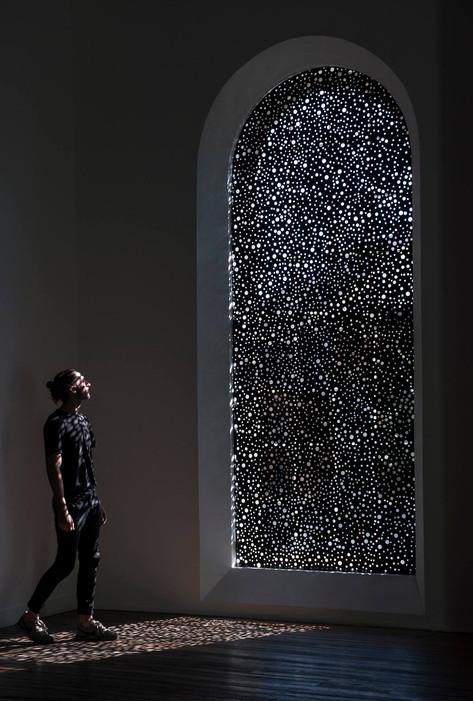 Art install documentation - 'Untitled', (2016) Daniel Boyd, NAS Gallery