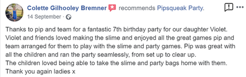 Pipsqueak Party Review