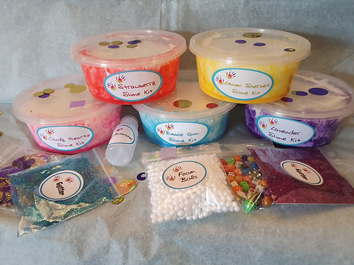 Mega Fluffy Scented Slime Kits
