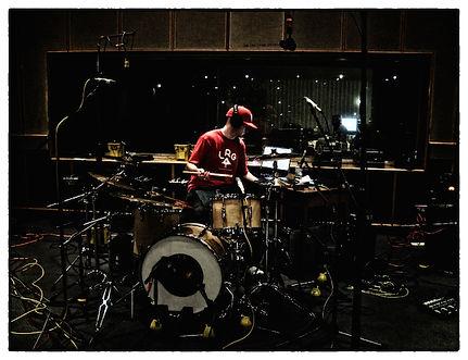Mike Freschezza Drumming at BBC Maida Vale MV4 for Radio 1