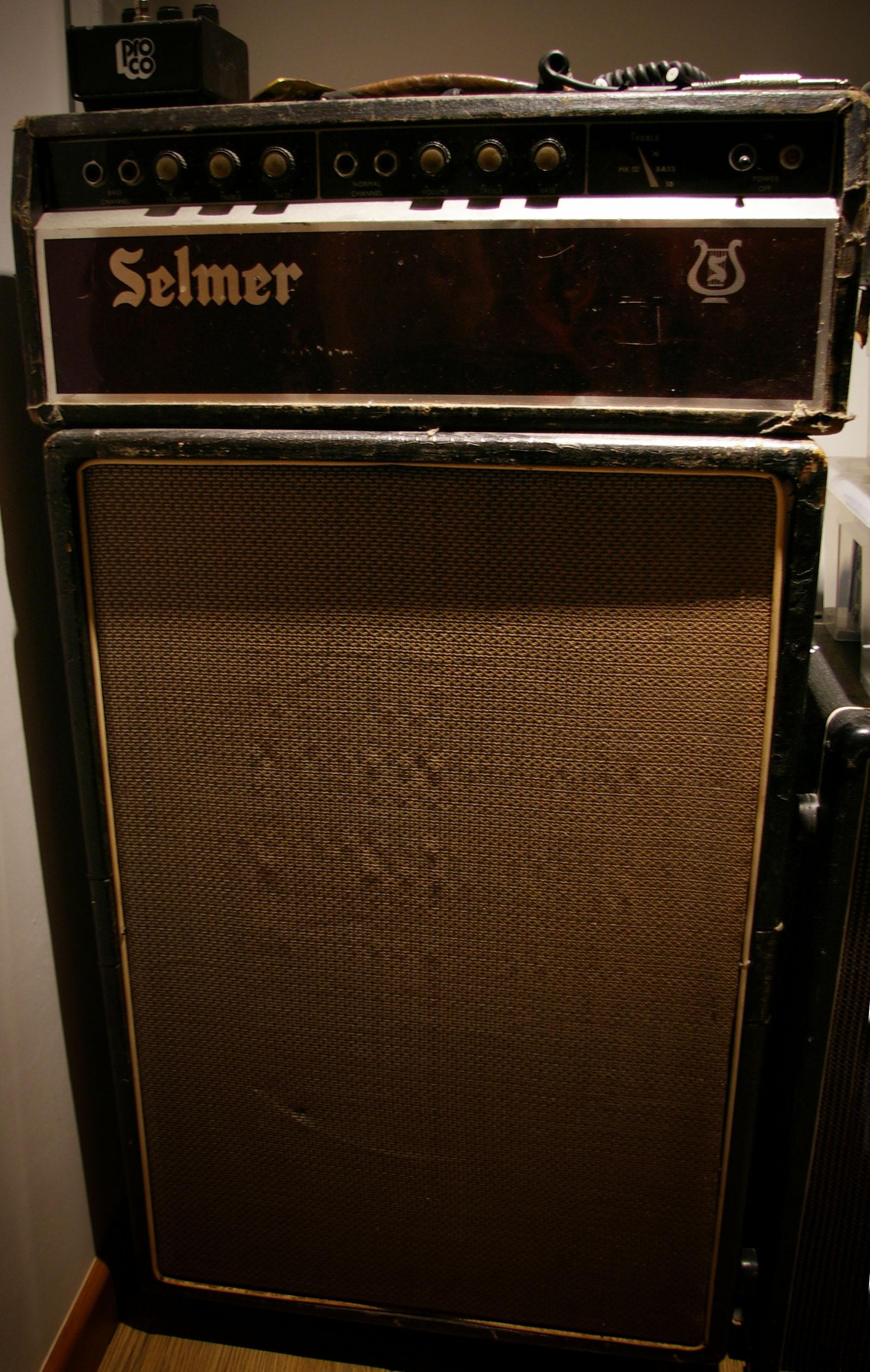 Selmer Treble n Bass MKIII