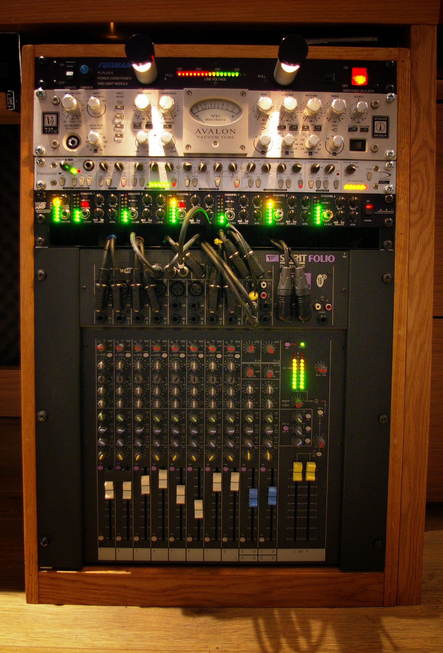 Studio Rack Gear 1