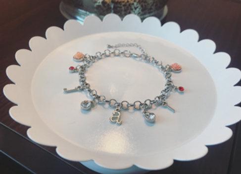 Regular Silver Charm Bracelet (Customized)