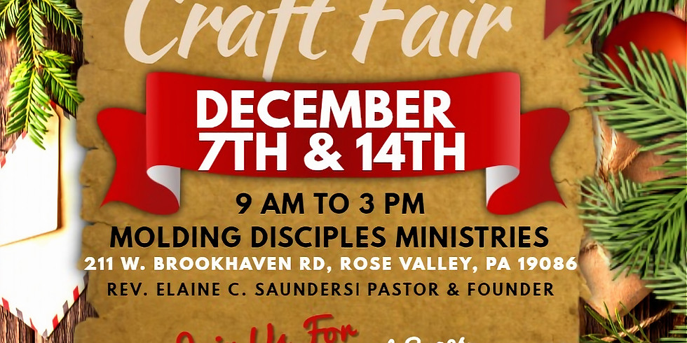 M.D.M December Craft Fair
