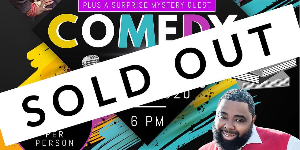 M.D.M. Comedy Show Event Fundraiser