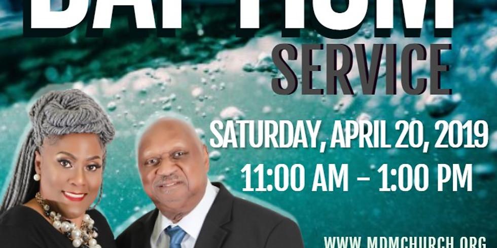 M.D.M Baptism Service