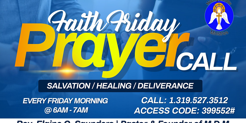 FAITH FRIDAY PRAYER