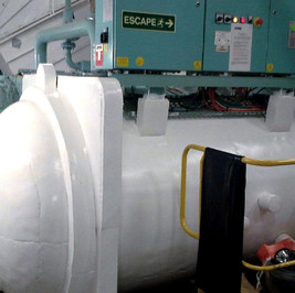 CDS Armour-coated pressure vessel