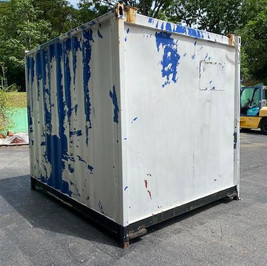 Before - A container in need of some love