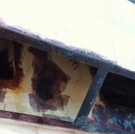 Outside air inlet - BEFORE CDS Armour
