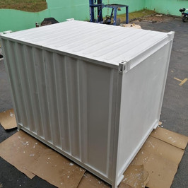 Shipping Container AFTER some love from CDS Armour.