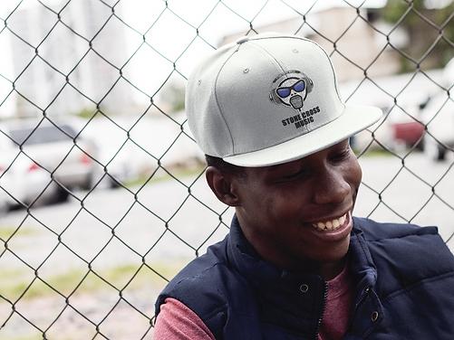 Stone Cross Music Back Strap Baseball Hat