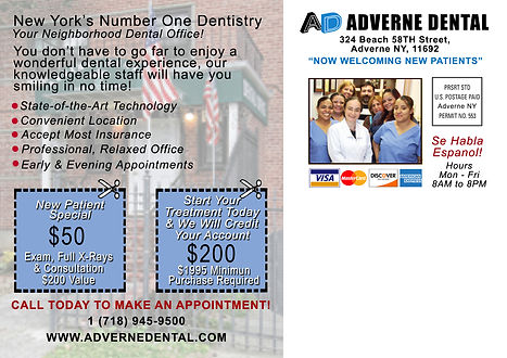 Adverne Dental Back Side