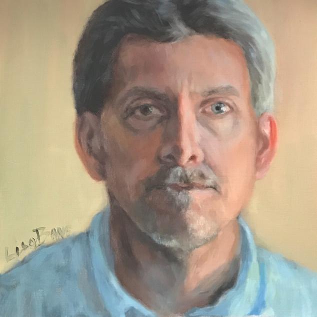 oil portrait painting