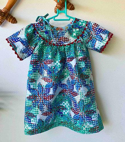 Robe bébé EZA Woodin Bleu