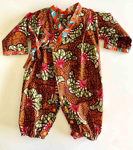 Kimono bébé Fleur de mariage