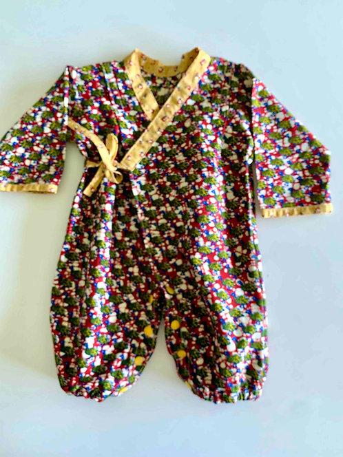 Kimono bébé Parade des pintades