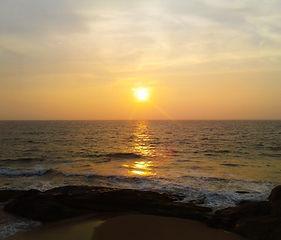 Golden Sunset At Rocks.jpg