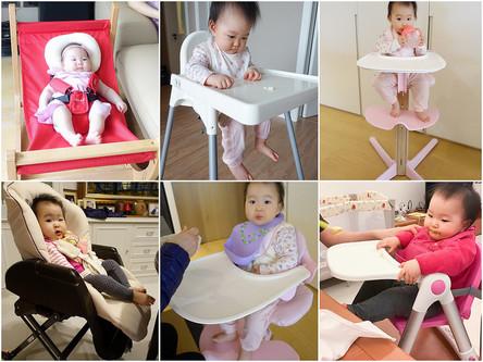 『育兒』餐搖椅、成長椅評比,Nomi、Farska、Aprica、Apramo Flippa、IKEA優缺點一次比較給妳看