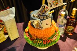 2 tier customized cake