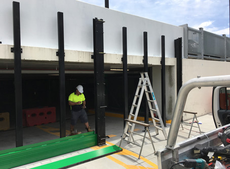 4 Metre High Floodplank System Installed at Dalby QLD