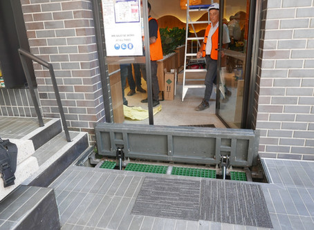 New Low Profile Ram Push for Shop Front Entries