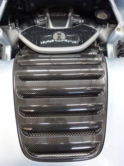 Automotive engine cover