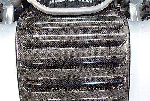Mclaren MP4-12C / 650s engine cover - high temperature carbon fibre upgrade