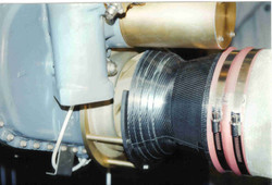 Helicopter air intake