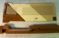 Capping and cabin door