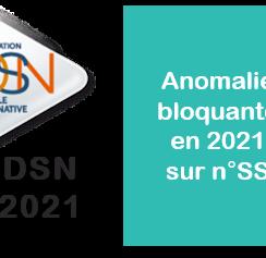 Numéro de Sécurité Sociale & DSN au 01/01/2021