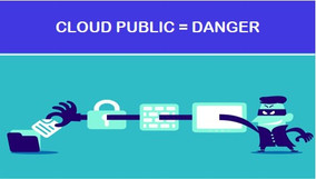 Attention aux risques du CLOUD public pour vos données!