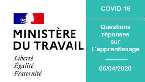 Questions Réponses sur l'Apprentissage - COVID-19