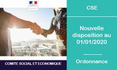Règlement intérieur du CSE au 01/01/2020