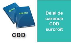 Accord de branche sur le délai de carence en cas de succession de CDD