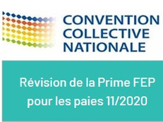 Révision de la prime FEP pour Novembre 2020