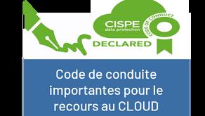 Le Code de conduite pour les fournisseurs de CLOUD approuvé par la CNIL