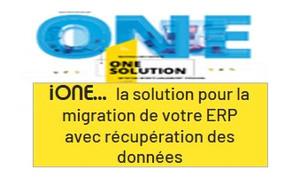 Migration de votre ERP vers IOne! Votre gestion d'après...