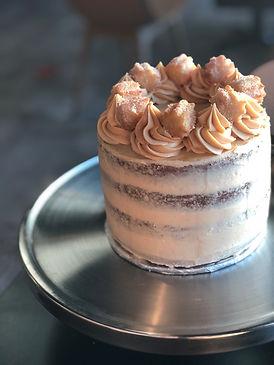 Naked Churro Cake
