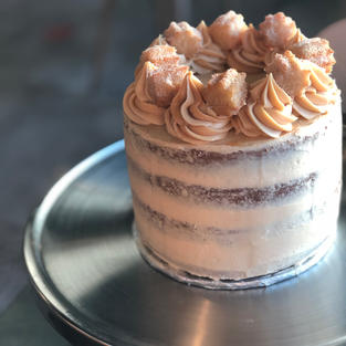 Original Churrobar Naked Churro Cake